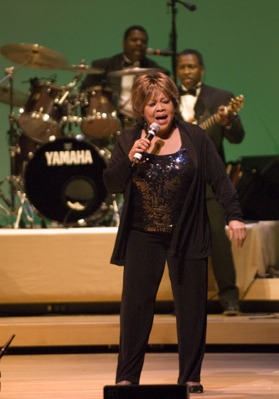 Mavis Staples, 2006 National Heritage Fellowship Concert, Strathmore Music Center, Bethesda, Maryland, Photograph by Alan Hatchett