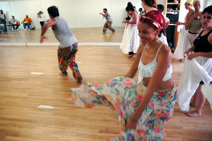 Ezequiel Torres dance workshop, courtesy National Endowment for the Arts