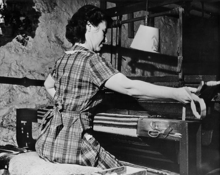 Dorothy Trumpold, East Amana, ca. 1940s, courtesy Dorothy Trumpold