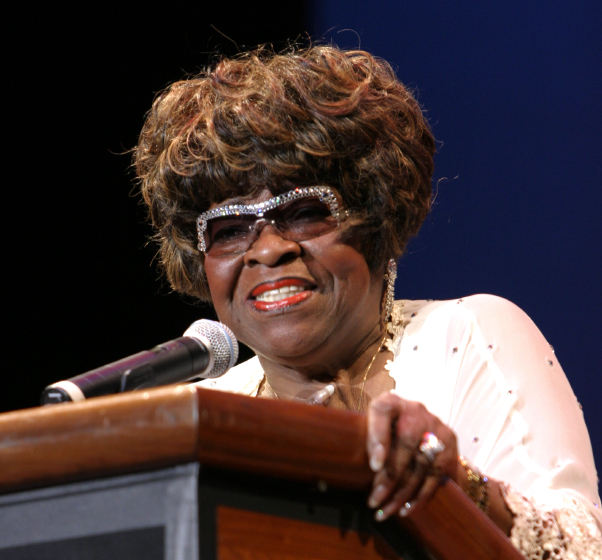 Albertina Walker, 2005 National Heritage Fellowship Concert, photograph by Michael G. Stewart, courtesy National Endowment for the Arts