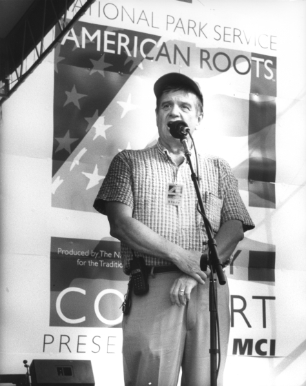 Joseph T. Wilson, July 4, 1997. Photograph by Michael G. Stewart, courtesy National Council for the Traditional Arts