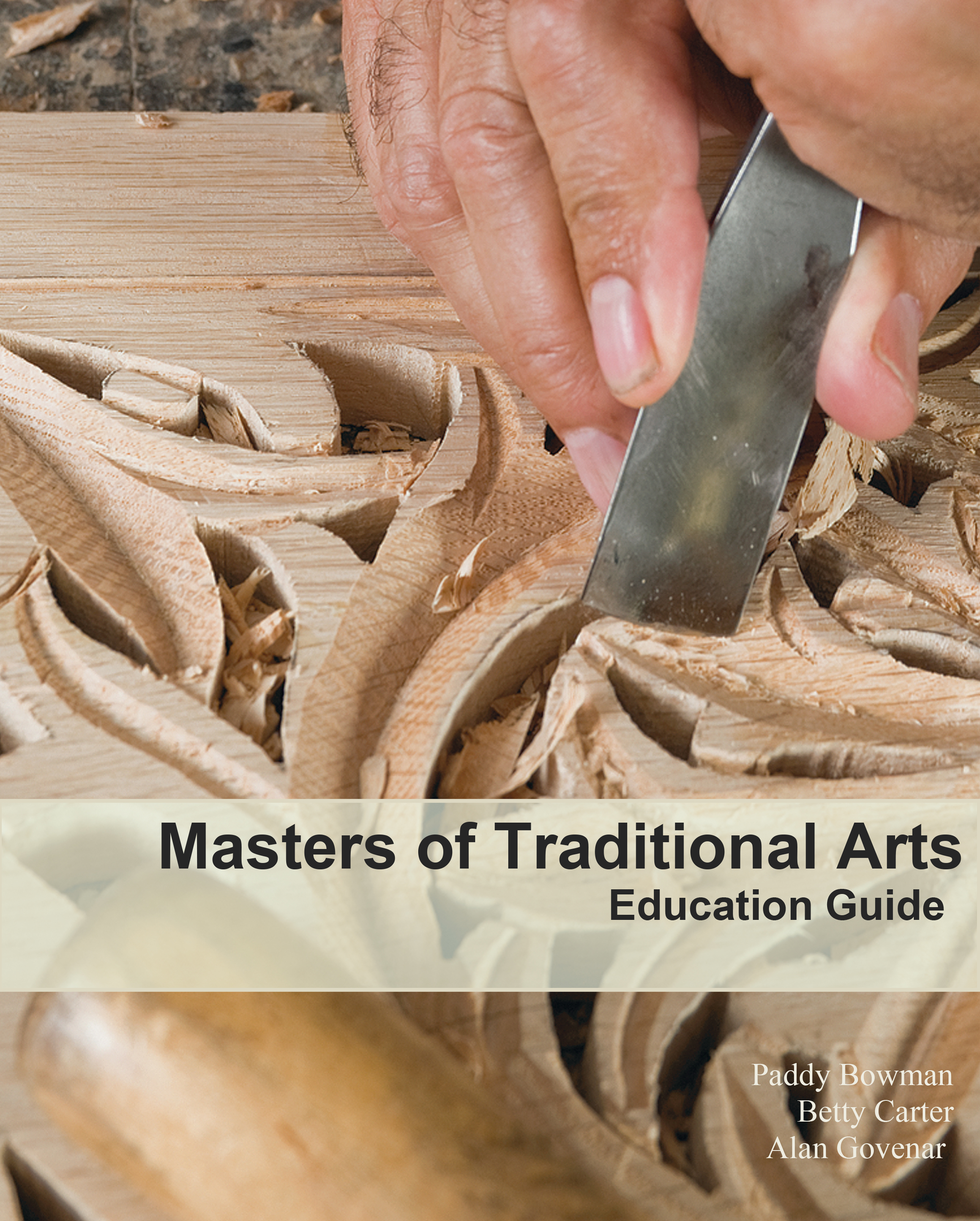 Masters of Traditional Arts Education Guide Cover